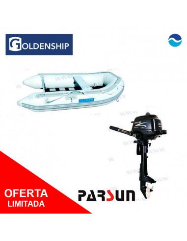 Pack neumática  (Embarcación + Motor)...